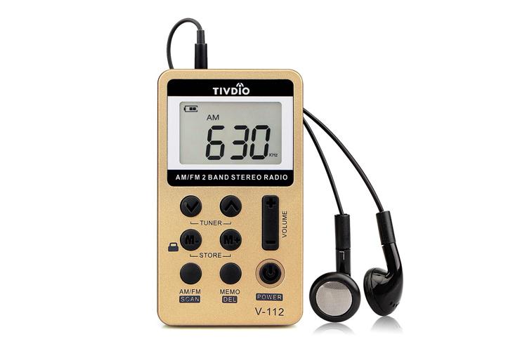 Tivdio V-112 : Test et avis de cette radio de poche !
